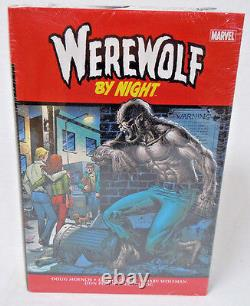 Werewolf By Night Volume 1 Omnibus PLOOG COVER HC Hard Cover New Sealed