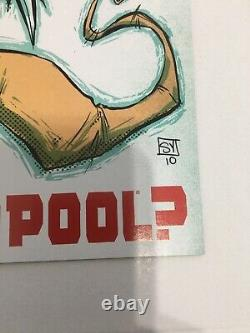 What if Venom Possessed Deadpool #1 (Marvel 2011) NM! Skottie Young HOT BOOK
