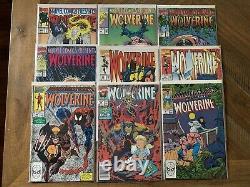 Wolverine 1 1982 Newsstand plus bonus issues. Marvel Comics