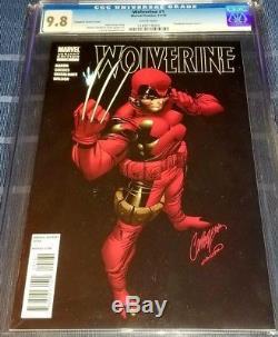Wolverine #1 Deadpool Campbell Variant CGC 9.8