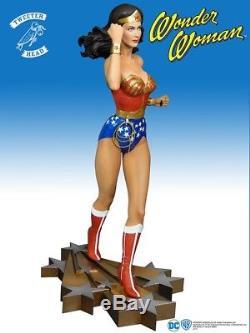 Wonder Woman Maquette Statue Tweeterhead Lynda Carter In Stock NOW