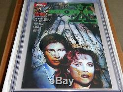 X-Files #1 CGC SS 9.8 1st Comic Book Appearance of Mulder & Scully Topps Comics