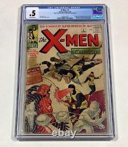 X-MEN #1 CGC 0.5 MEGA KEY! Presents Nice! L@@K! (1st X-Men) 1963 Marvel