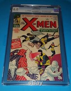 X-MEN #1 CGC 6.0 BEAUTIFUL BOOK SCARCER in GRADE TIME PAY AVAILABLE
