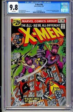 X-MEN #98 CGC 9.8 WP Marvel Comics 4/76 Cockrum Claremont Wolverine Magneto