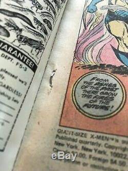 X-MEN GIANT SIZE #1 (Marvel, 1975) 4.5 5.0 (FN)
