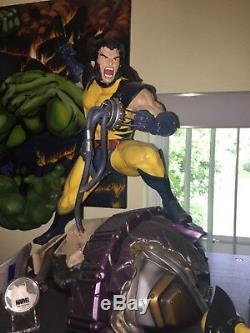 X-MEN X-FORCE WOLVERINE Logan XM Statue 210/950 Coin MARVEL movie Comic Book