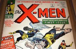 X-Men #1 1963 CGC 6.0 Marvel Origin 1st appearance Cyclops Jean Grey Beast Angel