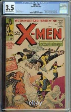 X-Men #1 CGC 3.5 1st App Prof X Cyclops Iceman Angel Beast Magneto Jean Grey