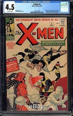 X-Men #1 CGC 4.5