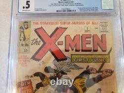 X-Men #1 (Marvel, 1963) CGC. 5 Origin & 1st appearance of the X-Men