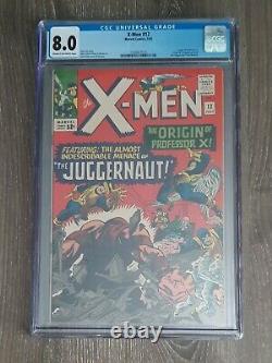 X-Men #12 CGC 8.0 1st Juggernaut