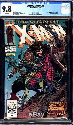 X Men #266 CGC 9.8 NM/MT 1st Appearance Gambit