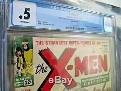 X-men #1 1963 Origin & 1st App X-men Huge Holy Grail Marvel Book Cgc (looks 3.0)