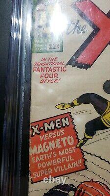 X-men #1 CGC 4.0 1963 1st X-men a book. A must have. 1st X-men