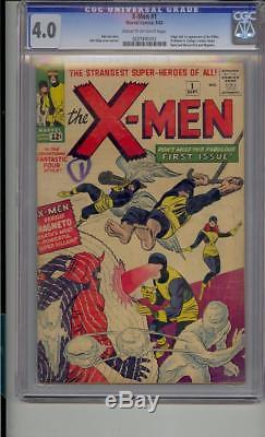 X-men #1 Cgc 4.0