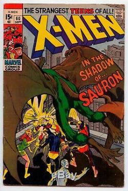 Xmen Silver Age Mini Lot Neal Adams, Barry Smith, Steranko